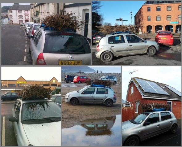 10 bundles on a car 8 (pward 2013)