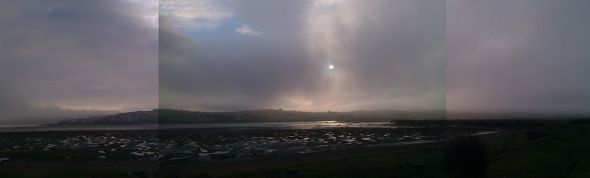winter morning, the skern, appledore (p ward 2013)
