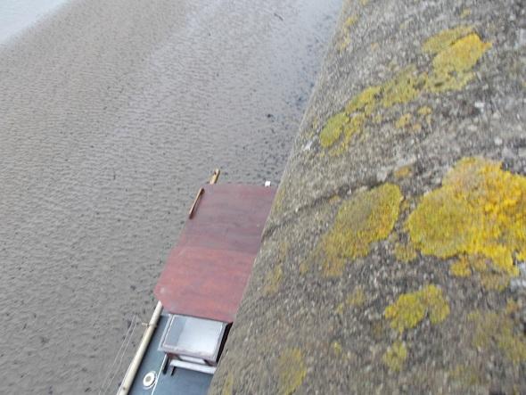 at the edge of the quay, bideford (pward 2013)