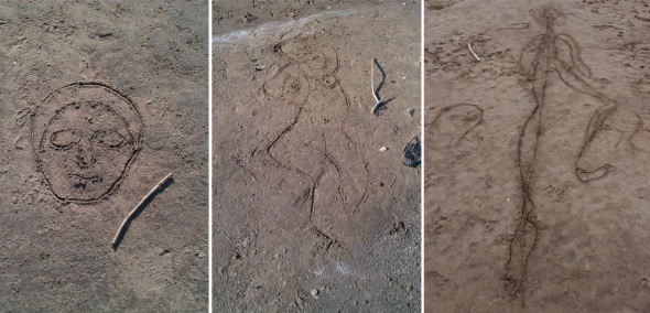 sand drawings, northam (p ward 2013)