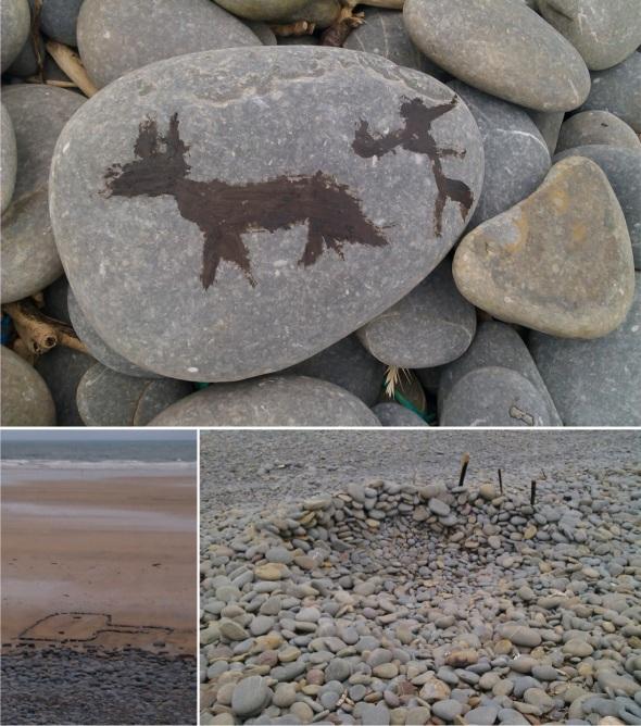 tar, stones, sticks and sand, unknown artists, westward ho! (p ward 2013)