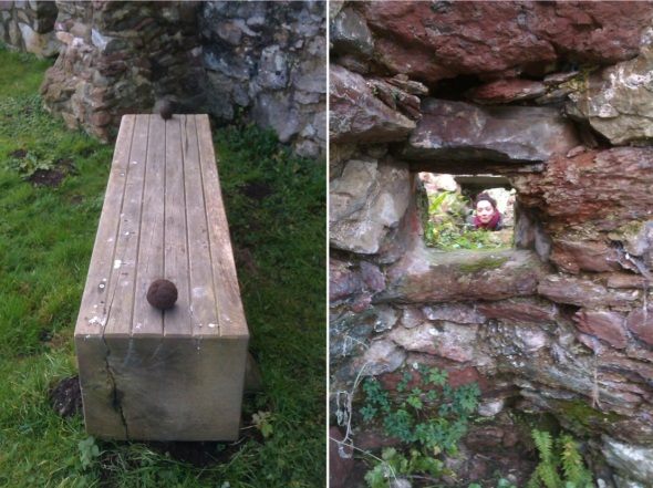 a bench-width apart (soil balls) dale, pembrokeshire (p ward:f owen 2012)