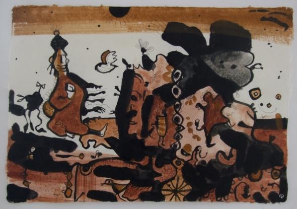 lively-landscape-earth-pigments-pva-on-laos-handmade-paper-80x60cm-p-ward-2009_0