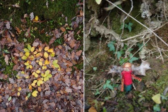 not another andy goldsworthy; an attack of the tinsel -,yarner wood, east dartmoor (p ward 2013)