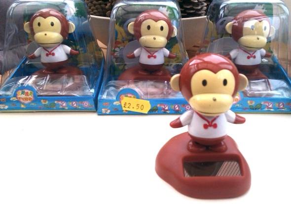dancing monkeys, the beach shop, westward ho! (p ward 2013)