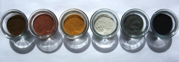 north devon landscape (ground earth pigments; p ward 2009)