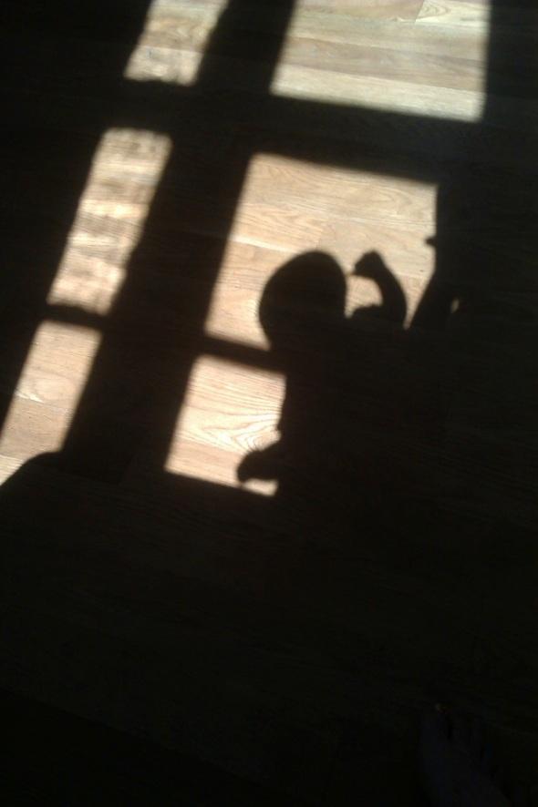 shadow play, ilfracombe (p ward 2014)