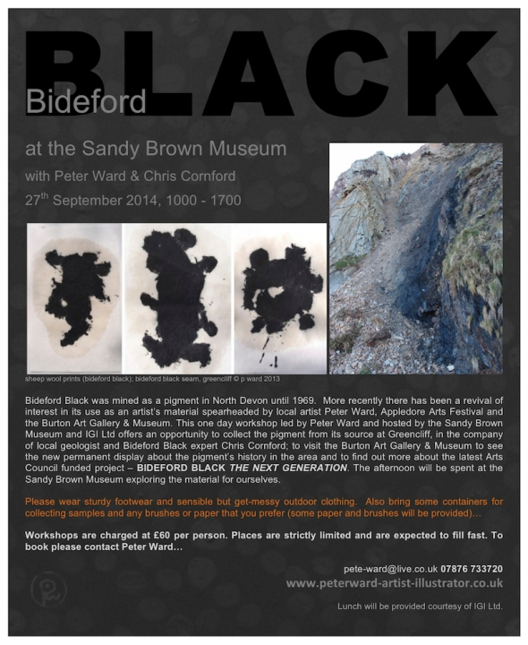 Bideford Black at the Sandy Brown Museum 27914 flyer for web