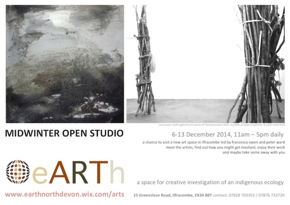 eARTh midwinter open studio poster 2