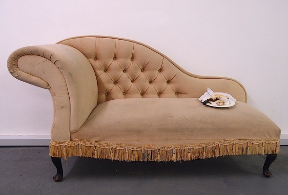 for display purposes only, ilfracombe cake and chaise longue © p ward and f owen 2014