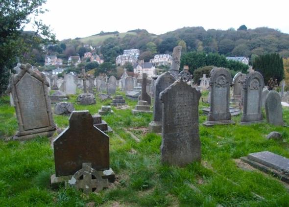 st peter's graveyard, ilfracombe © p ward 2014