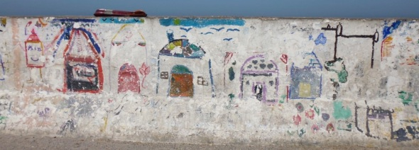 children's mural project, essaouira © f owen 2015