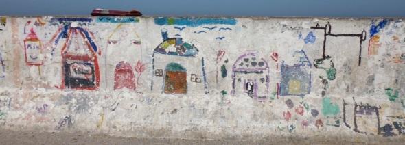 children's mural project, essaouira © f owen 2015