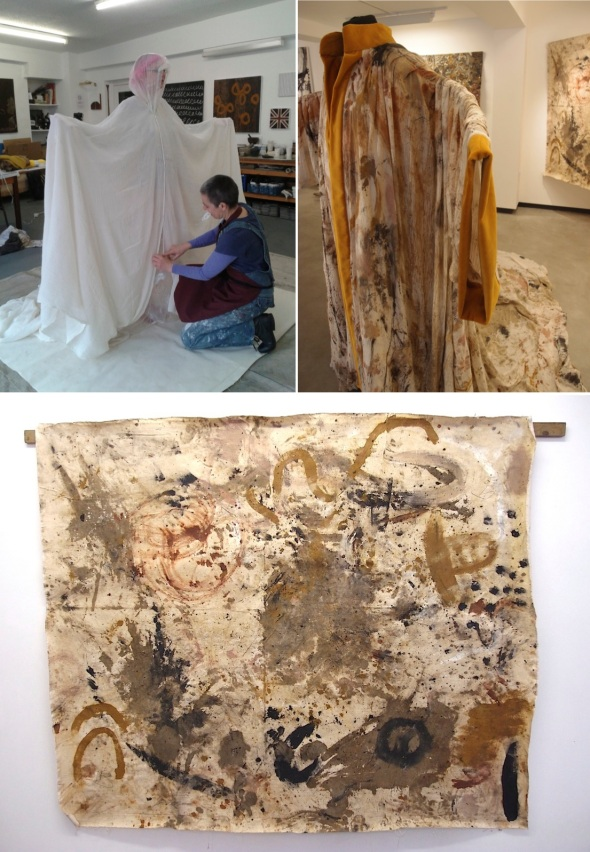 painting together eARTh gown © f owen, s bamford, c thomas, p ward 2015