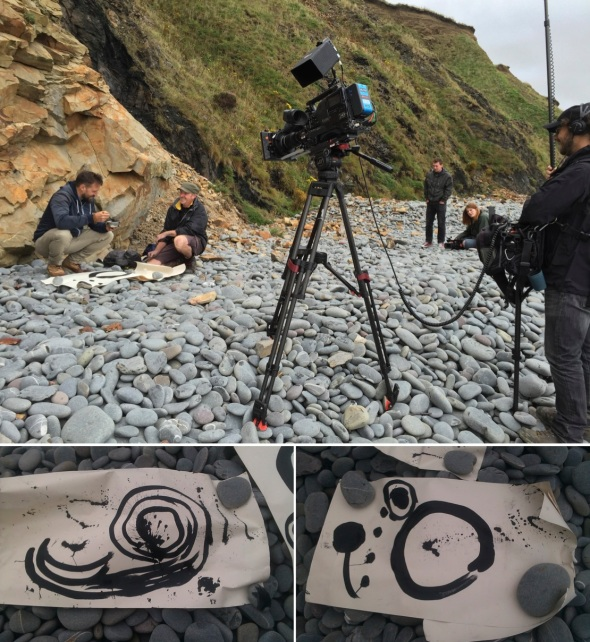 on location at greencliff and paintings by the team © p ward and courtesy n wilkinson (www.nickwilkinsontv.co.uk) 2015