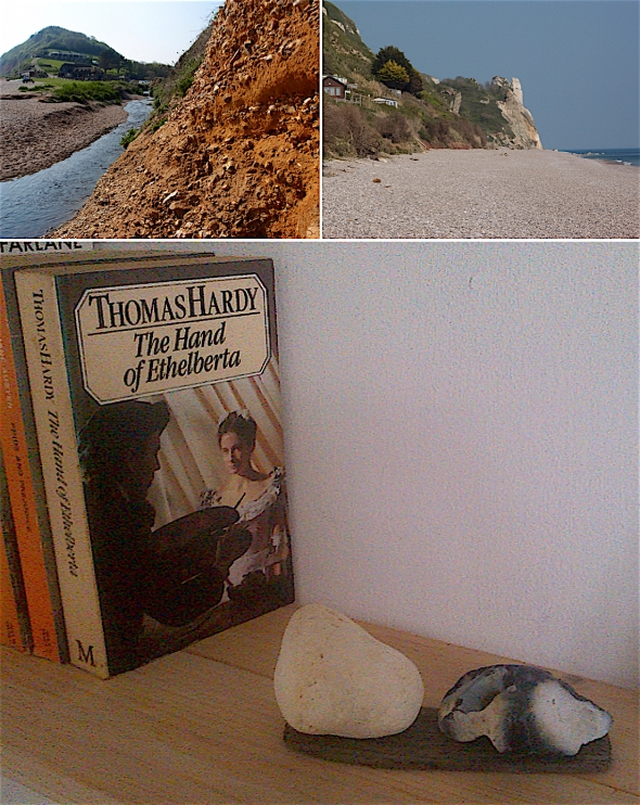 home- Wessex – Branscombe beach, East Devon, Hardy country (chalk and flint) © p ward 2016