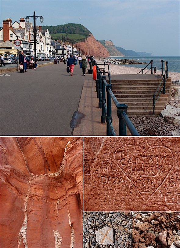 Sidmouth, East Devon © p ward 2106