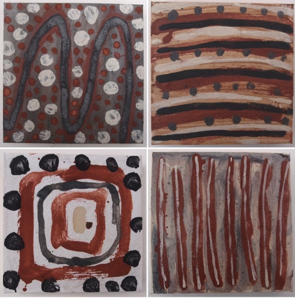 inward-boundless-i-ii-ii-iv-20x20cm-earth-pigments-on-canvas-p-ward-2016