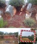 rocks and soil I + II, framed; dugi otok, croatia © p ward2017