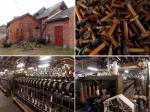 engine houses, bobbins and spinning machines , Coldharbour Woollen Mill, Uffculme, Devon © p ward2017