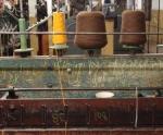 skein maker, Coldharbour Woollen Mill, Uffculme, Devon © p ward2017