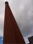 tall chimney, Coldharbour Woollen Mill, Uffculme, Devon © p ward2017