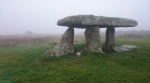 Lanyon_s Quoit in the mist, Penwith, Cornwall © p ward2018