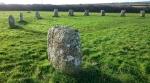Merry Maidens stone circle, Penwith, Cornwall © p ward2018