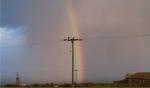 Rainbow over Geevor Mine, Cornwall © p ward2018