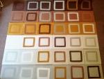 6x6x6 (Cornish earth pigments on paper) © p ward2018