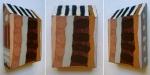 bird box (Cornish earth pigments on wood) © p ward2018