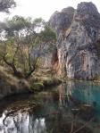 Blue Waterhole, Namadji National Park, NSW © p ward2018