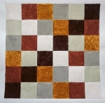 Cornish Quilt (Cornish earth pigments on paper) © p ward2018