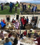 painting a parish future – Pendeen in St Just, photos courtesy J Willett and MWard