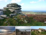West Penwith, Cornwall – Morvah, Sennen Cove, Cot Valley and Chun Quoit © p ward 2018