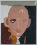 fairy queen (cornish earth pigments on canvas; 25x30cm) © p ward2019