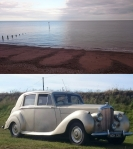 Teignmouth, South Devon; Big Silver Bentley, Gurnard's Head, Cornwall © p ward2019